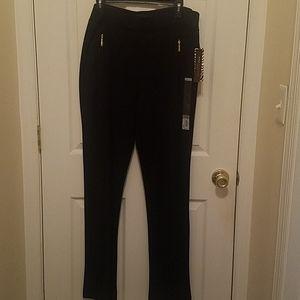 Dana Buchman Black pull up trousers